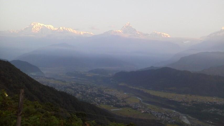 アンナプルナ山群です