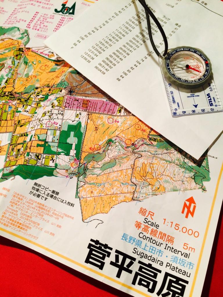 オリエンテーリングの地図は、当初は情報量の多さに戸惑ったが、慣れれば情報が多い分、アプローチやルート選択の決定はしやすい。