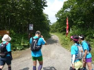 ここから西別岳登山口まで4キロ弱の長ーい林道が続きます