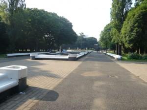 CP7代々木公園の噴水(特筆する事無し)