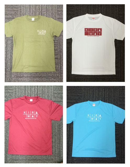 今回このイベントに間に合うように佐伯農場でTシャツを4種類準備。