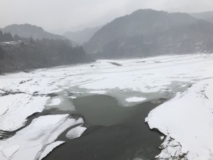 御嶽湖2018冬