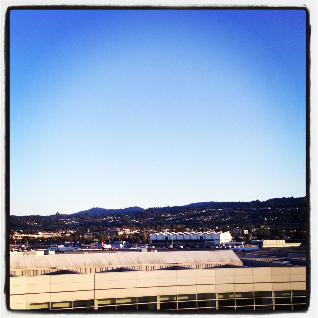 カリフォルニアの空は広い!