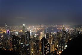 100万香港ドルの夜景スポットです。