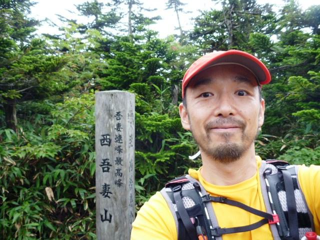 西吾妻山山頂